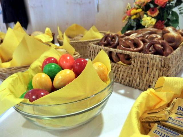 Osterbrunch im Altenzentrum Hospital