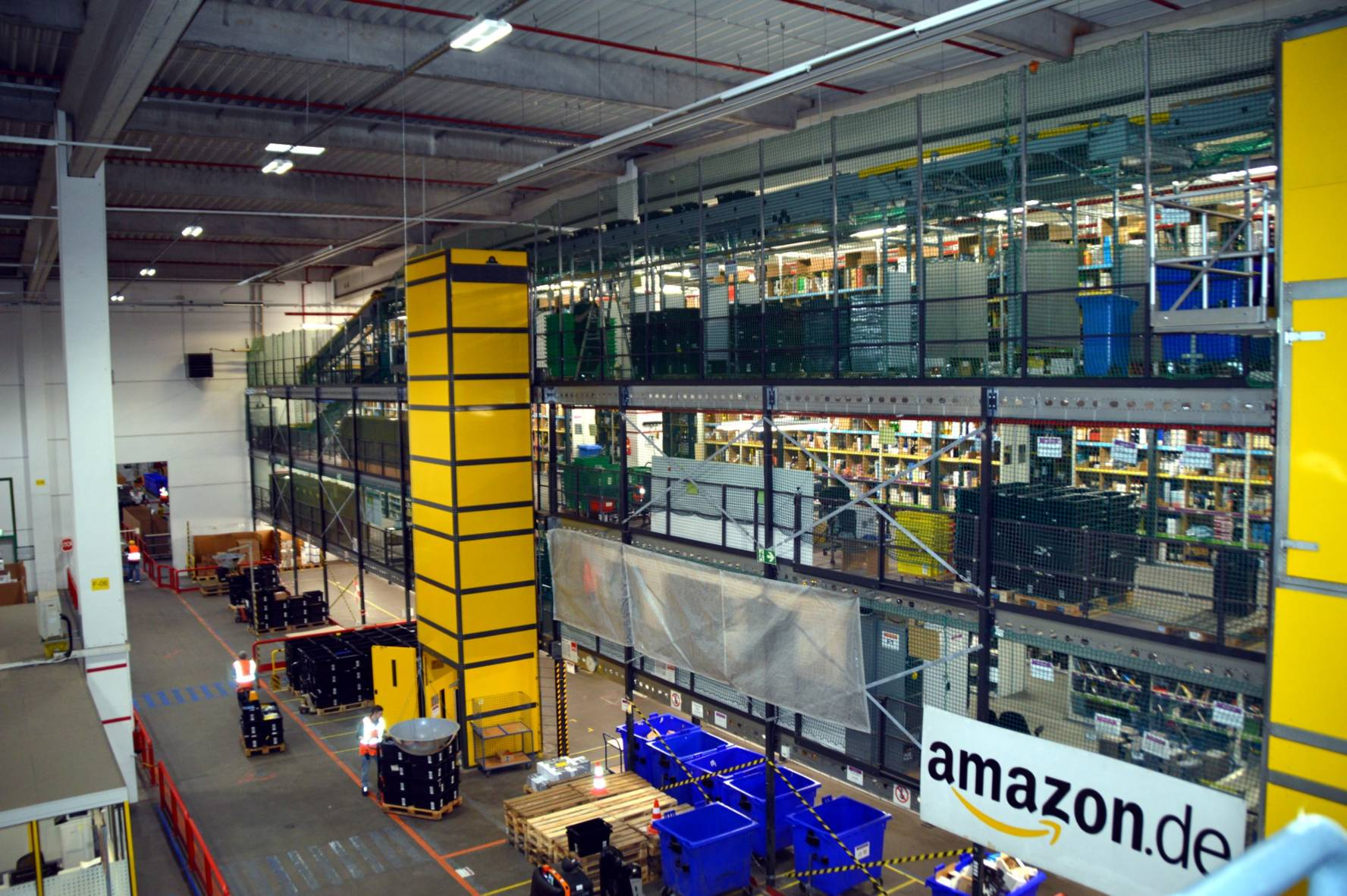 Amazon Logistik FRA 1 in Bad Hersfeld